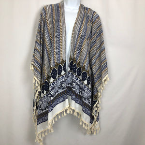Say What? Demanding, Kimono OS With Tassels